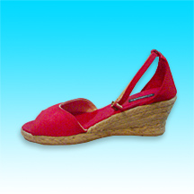 Medium High Wedge Fashion Espadrille for Retail Sellers